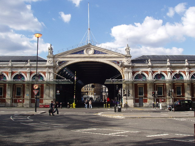 Smithfield Meat Market is the last remaining wholesale meat market in central London, and is largely unchanged (on the outside)