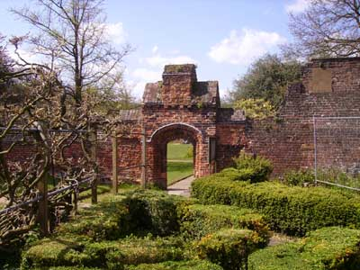 The walled garden at Fulham Palace