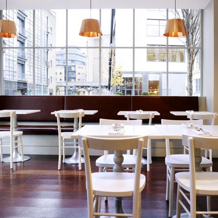 The Modern Pantry is light and airy, and serves stunning food