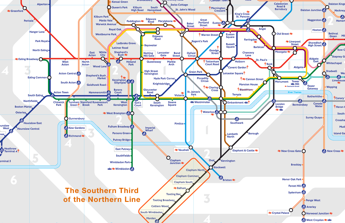 Becoming A Southwest Londoner Find Properly - Northern line map london