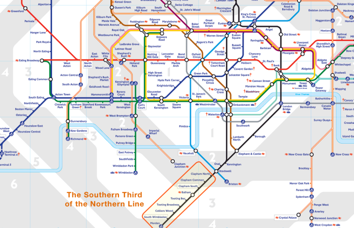 The Southern Third of the Northern Line