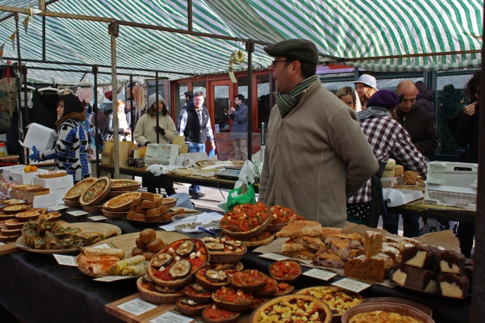 There are some seriously tasty baked goods on offer at Broadway Market