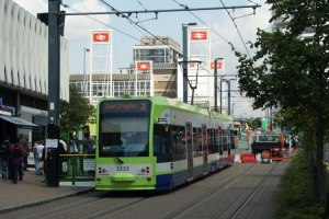 Tram, low house prices - Croydon has it all