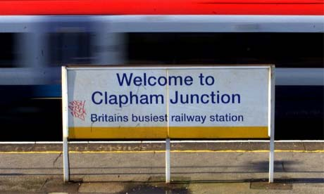 Clapham Junction Station - Britain's busiest station!